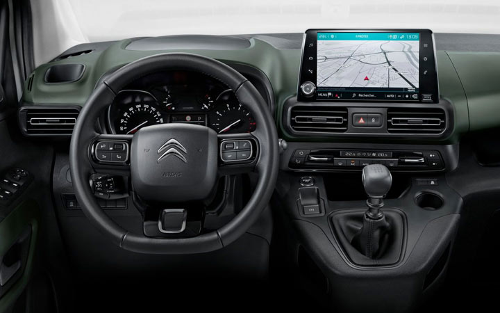 Интерьер Citroen Berlingo 2019